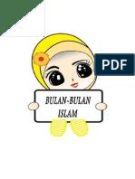 Bulan2 Islam
