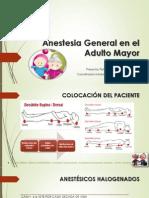 Anestesia General en El Adulto Mayor Completo