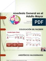 Anestesia General en El Adulto Mayor Completo