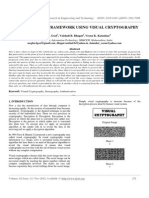 Authentication Framework Using Visual Cryptography