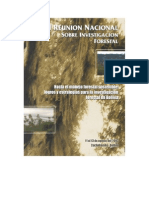 II Reunion Sobre Investigacion Forestal