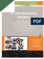 Company Profile - PT ORD Rekacipta Dinamika