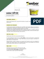 Weber GR100 Grund Universal de Profunzime
