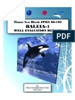BALEIA-1 Well Evaluation Report