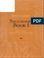 Cameron - Thucydides Book I- Students' Grammatical Commentary