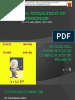 Control Estadistico Diapositivas CORRELACION PEARSON