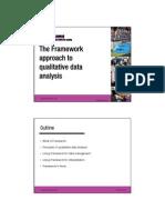 Qualitative Methodology