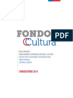 Fondart Ventanilla Abierta Nacional 2014