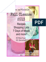 Fall Cleanse 2013