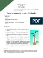 Termometro Casero Nes