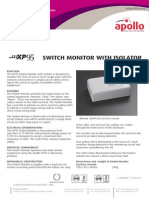 Pp2084 Xp95 Switch Monitor With Isolator Issue 6