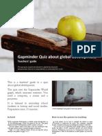 Gapminder Quiz