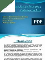 Iluminación en Museos y Galerías de Arte