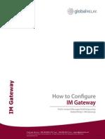 GlobalRelay IMGateway Config