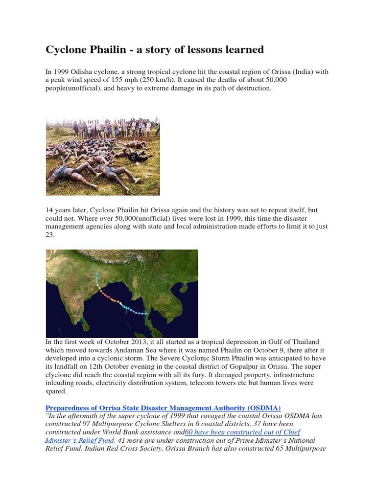 Cyclone Phailinn-how Orissa was disaster ready | Seasons