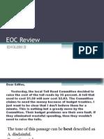Eoc Mc Review