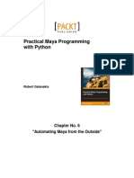 9781849694728_Practical_Maya_Programming_with_Python_Sample_Chapter