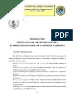 Metodologie Masterat 2013-2014