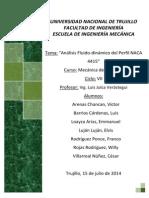 Análisis Fluido-dinámico Del Perfil NACA 4415