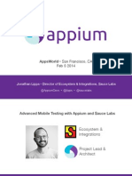 Appium Mobile Test Automation Tutorial | Selenium (Software