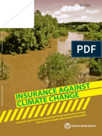 Insurance Against Climate Change