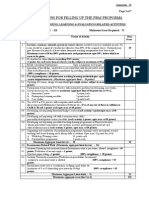 Instructions for Filling the PBAS Form