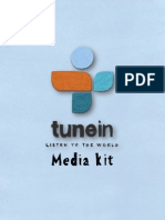 TuneIn Media Kit