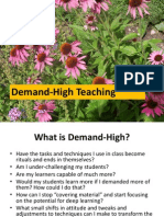 Demand High Seminar Pack One Powerpoint Slides 002