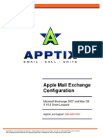 Apptix Apple Mail Configuration