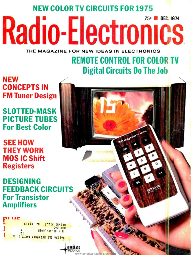 Re 1974 12 Am Broadcasting Videotape Circuit Universal 3v Led Flasher Circuits Designed By David A