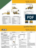 3DX Extra Spec Sheet