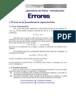 Practicas Fisica - 3 Errores