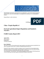 Food and Agricultural Import Regulations and Standards - Narrative_Beijing_China - Peoples Republic Of_12!12!2013
