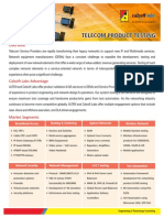 Telecom Product Testing
