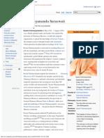 Chinmayananda Saraswati - Wikipedia