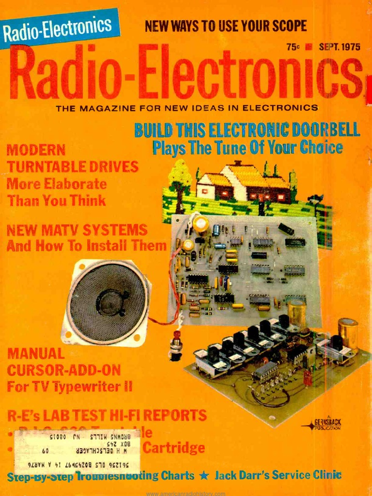 Re 1975 09 Television Basic Full Adder Electronics And Micros