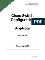 Cisco Switch Config v2 0