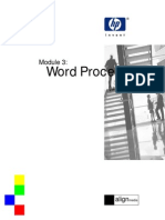 eBook Module 3 Word Processing (Using Word)