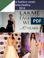 Lakme Fashion Week Winter/Festive2014