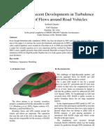 Term Paper Advanced Vehicular Aerodynamics