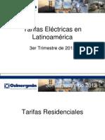 Tarifas Electricas en Latinoamerica