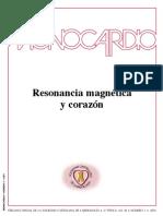 Resonancia Magnetica Corazon