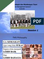 TMS Presentation - 4 Pref Mentor