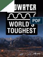 Badwater Ultramarathon 2014 Guidebook & Magazine
