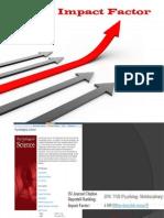 Impact Factor of Journals
