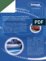 Aluminium Lightweighting
