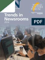 Trends in Newsrooms 2014