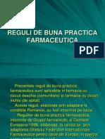 3. Reguli de Buna Practica Farmaceutica