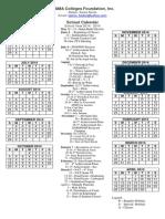 School Calendar SY 2014-2015