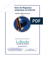 Plano de Negocios Para Empresas Na Internet ABC Commerce